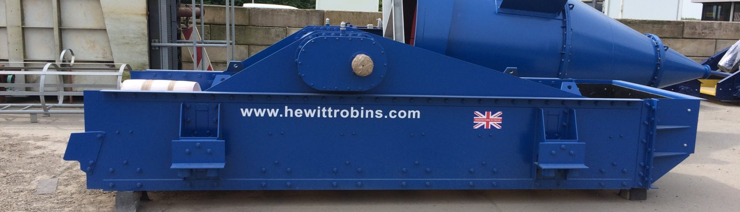 Hewitt Robins screen for a recycling plant in the Netherlands